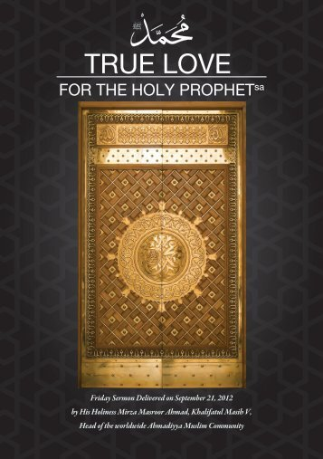 True-Love-for-the-HolyProphet
