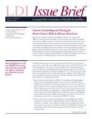 Genetic Counseling and Testing for Breast Cancer Risk in African ...