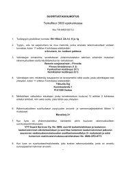 Suoritustasoilmoitus EN1504-2 FI - Tikkurila