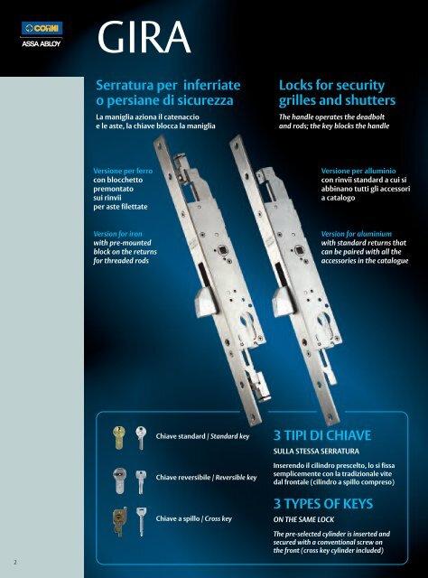 Accessories for Gira - ASSA ABLOY
