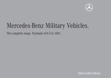 Mercedes-Benz Military Vehicles.
