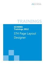 ST4 Page Layout Designer - SCHEMA GmbH