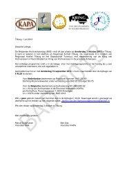 (BAD) vindt dit jaar plaats op donderdag 3 oktober 2013 in T - VVBAD
