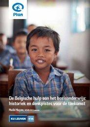 De Belgische hulp aan het basisonderwijs: historiek en ... - Plan België