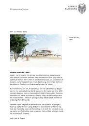 Husets navn er Dokk1 (pdf) - Urban Mediaspace Aarhus
