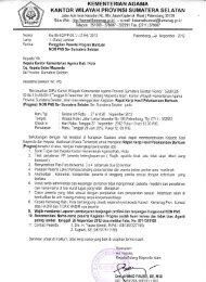 kantor wilayah provinsi sumatera selatan - Kemenag Sumsel
