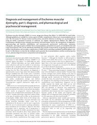 Diagnosis and management of Duchenne muscular dystrophy, part 1