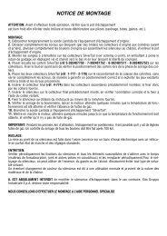 Notice de montage - LeoVince