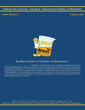 Volume 3, Issue 1 [February 2012 pdf] - California State University ...