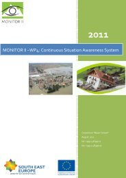 MONITOR II –WP4: Continuous Situation Awareness System