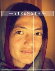 2011 Annual Report - Women for Women International