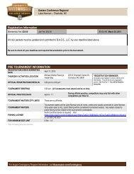 Info Sheet - Bass