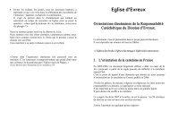 Télécharger le texte en pdf - Diocèse d'Evreux