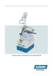 Download Catálogo Modelo S - Schlatter