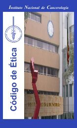 codigo etica-web - Instituto Nacional de Cancerología