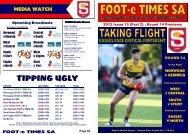 2013 FeT Rd 14 Part 2 WAvCD.pub - West Adelaide Football Club