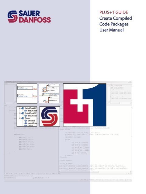 PLUS+1 GUIDE Create Compiled Code Packages - Sauer-Danfoss