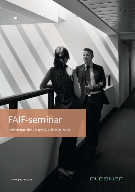 FAIF-seminar - Plesner