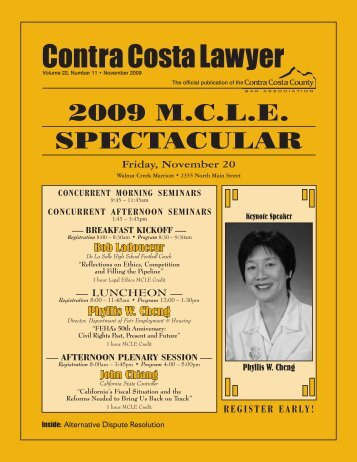 Alternative Dispute Resolution Issue - Contra Costa County Bar ...