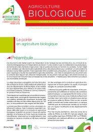 BIOLOGIQUE - Chambres d'Agriculture de Rhône-Alpes