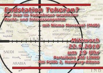 Endstation Teheran? - Niema Movassat, MdB