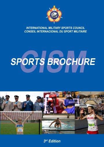 CISM Sports Brochure 2010