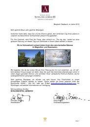 Unser Hochzeitsbrief an Sie - Schlosshotel Lerbach