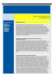 European HE Matters Issue 14 - International Unit