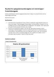 Læs resultaterne af spørgeskemaundersøgelsen her. - Indre By ...