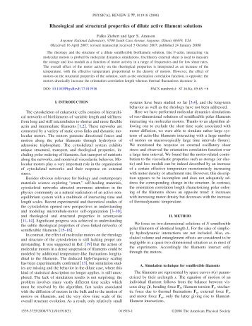 Rheological and structural properties of dilute active filament solutions