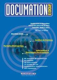 programme docu 2003 - Gilbane Report