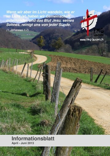 Ausgabe April - Juni 2013 - FMG Lausen