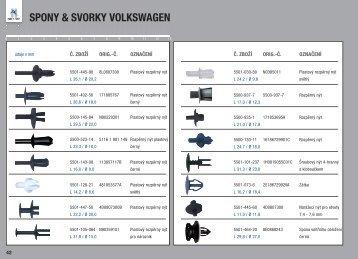 SPONY & SVORKY VOLKSWAGEN - Normfest