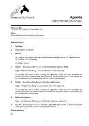 Agenda - 8th November, 2011 - Meetings, agendas, and minutes