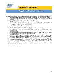 WEEE recycling information(PDF : 464.1 KB) - Watson-Marlow
