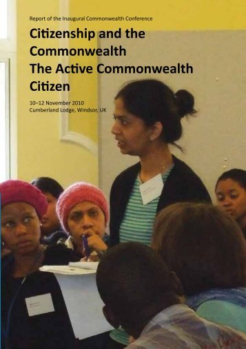 Citizenship and the Commonwealth The Active Commonwealth ...