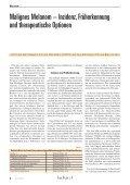 Malignes Melanom – Inzidenz, Früherkennung und therapeutische ... - Seite 3