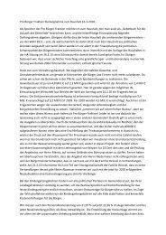 Pro Bürger Fraktion Stellungnahme zum Haushalt 16-3-2010 Als ...