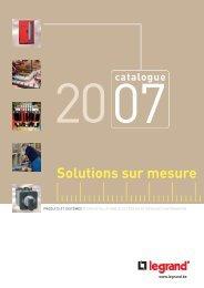 Solutions sur mesure - Legrand