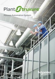 Plant structure - Porcess automation system (pdf ... - Schneider Electric