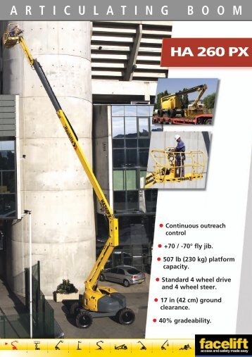 Haulotte HA 260 PX - Facelift