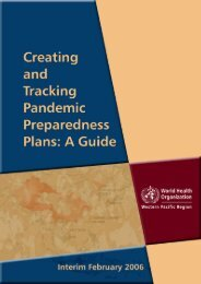 Creating and Tracking Pandemic Preparedness Plans: A Guide
