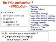 Selda Erensoy - Türk Mikrobiyoloji Cemiyeti
