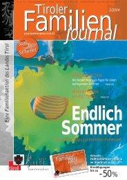 Journal 2/04 - Tirol - Familienpass