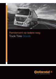 Download hier de brochure - Continental