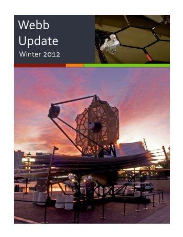 JWST Newsletter, Winter 2012 - AURA