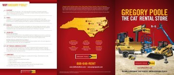 Rental Brochure - Gregory Poole