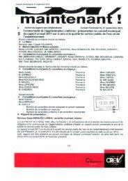 présentation au conseil municipal 5 du rapport ... - Ville de Creil