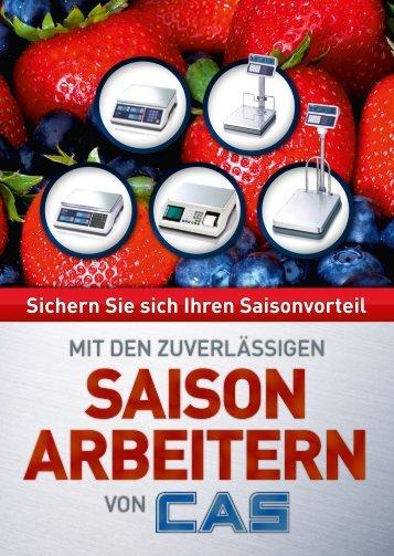 SAiSon ARBEiTERn SAiSon ARBEiTERn - CAS Waagen Deutschland