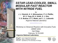 sstar lead-cooled, small modular fast reactor with nitride fuel - UxC